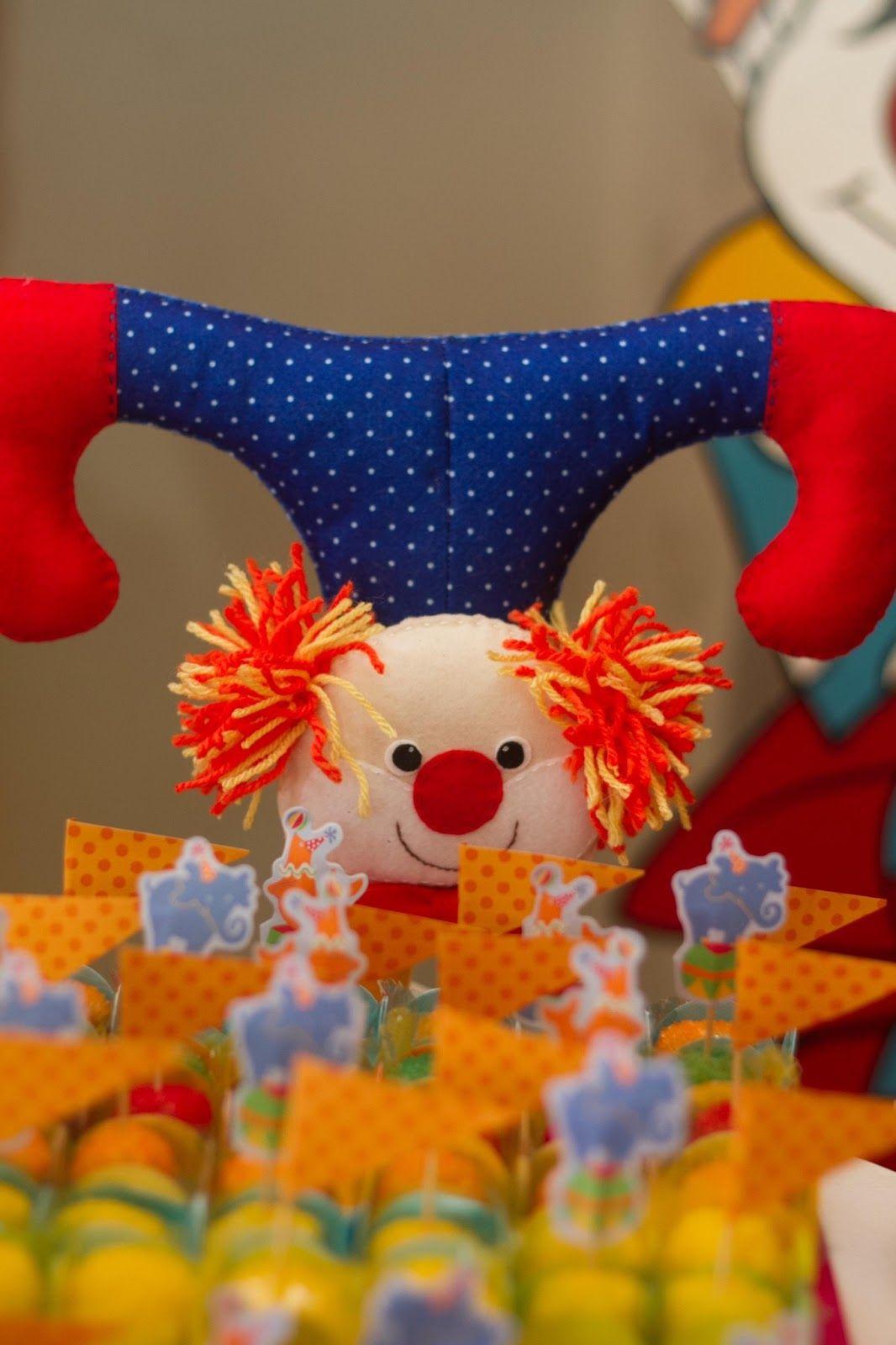 Di Confeti: Festa Tema Circo