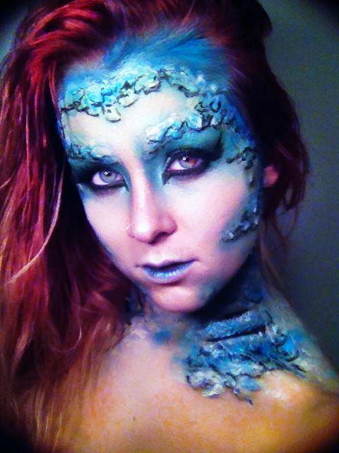 Mermaid Halloween Makeup   visual effects   Pinterest   Mermaid ...