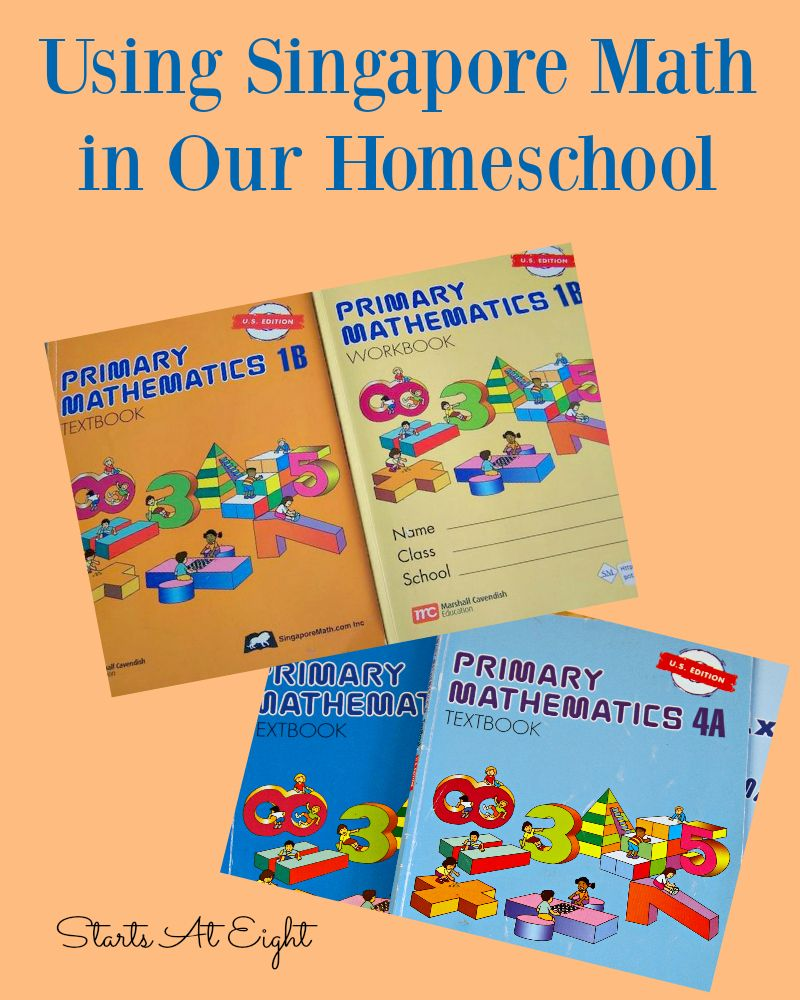 Using Singapore Math In Our Homeschool Singapore Math Homeschool Math Teaching Math Kindergarten [ 1000 x 800 Pixel ]