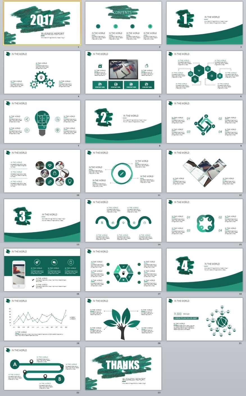 23+ best blue business report powerpoint templates | 2018 business, Modern powerpoint