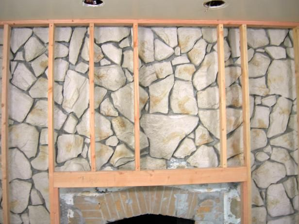 Terrific How To Build A Standard Wall Over A Stone Wall Ideas For Interior Design Ideas Clesiryabchikinfo