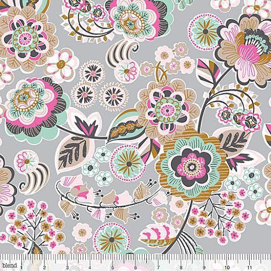 Natural Wonder Fabric by Josephine Kimberling by AllegroFabrics