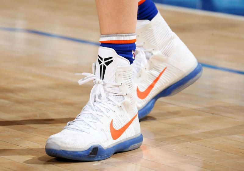 New York Knicks Rookie Kristaps Porzingis Finally Has His Own Nike PE
