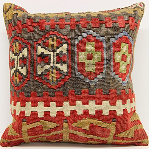 Afghan Traditional Wool Kilim Pillow
