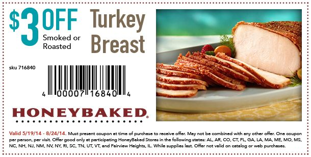 photo relating to Honey Baked Ham Printable Coupons named Pin upon Tasty lunch and supper Plans