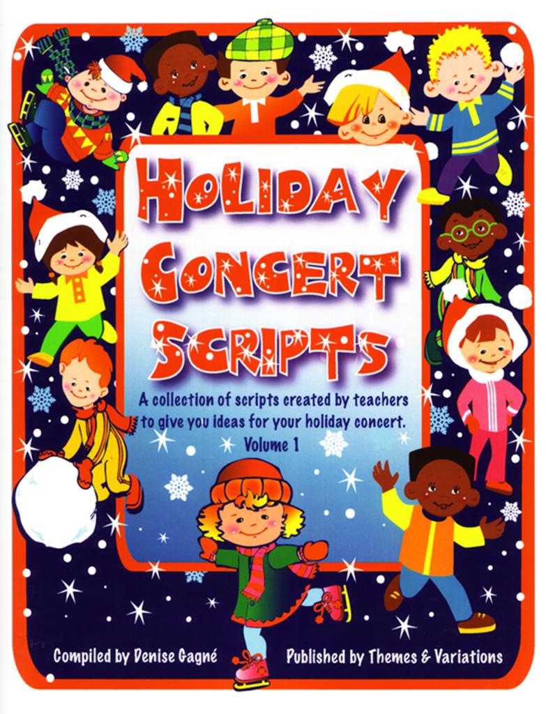 Holiday Concert Scripts Christmas songs list, Christmas