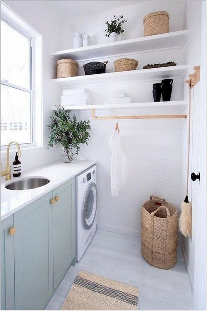 130 Unique Laundry Room Decoration Ideas Just For You Page 24