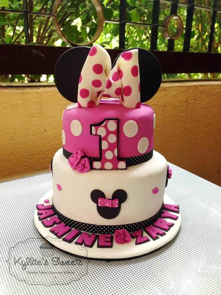 Minnie Mouse Cake Lovely Cakes Pinterest Mouse cake Minnie