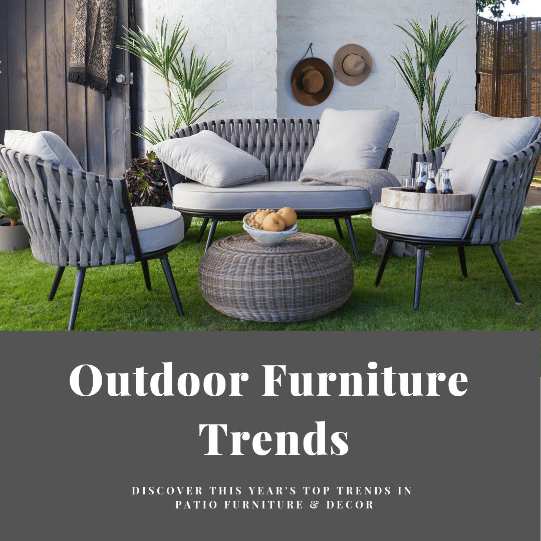 2020 outdoor furniture ideas &
