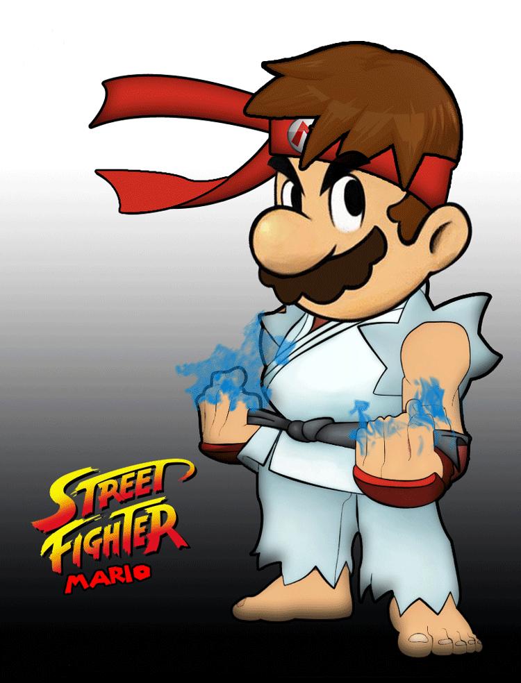 street fighter mario - this needs to happen