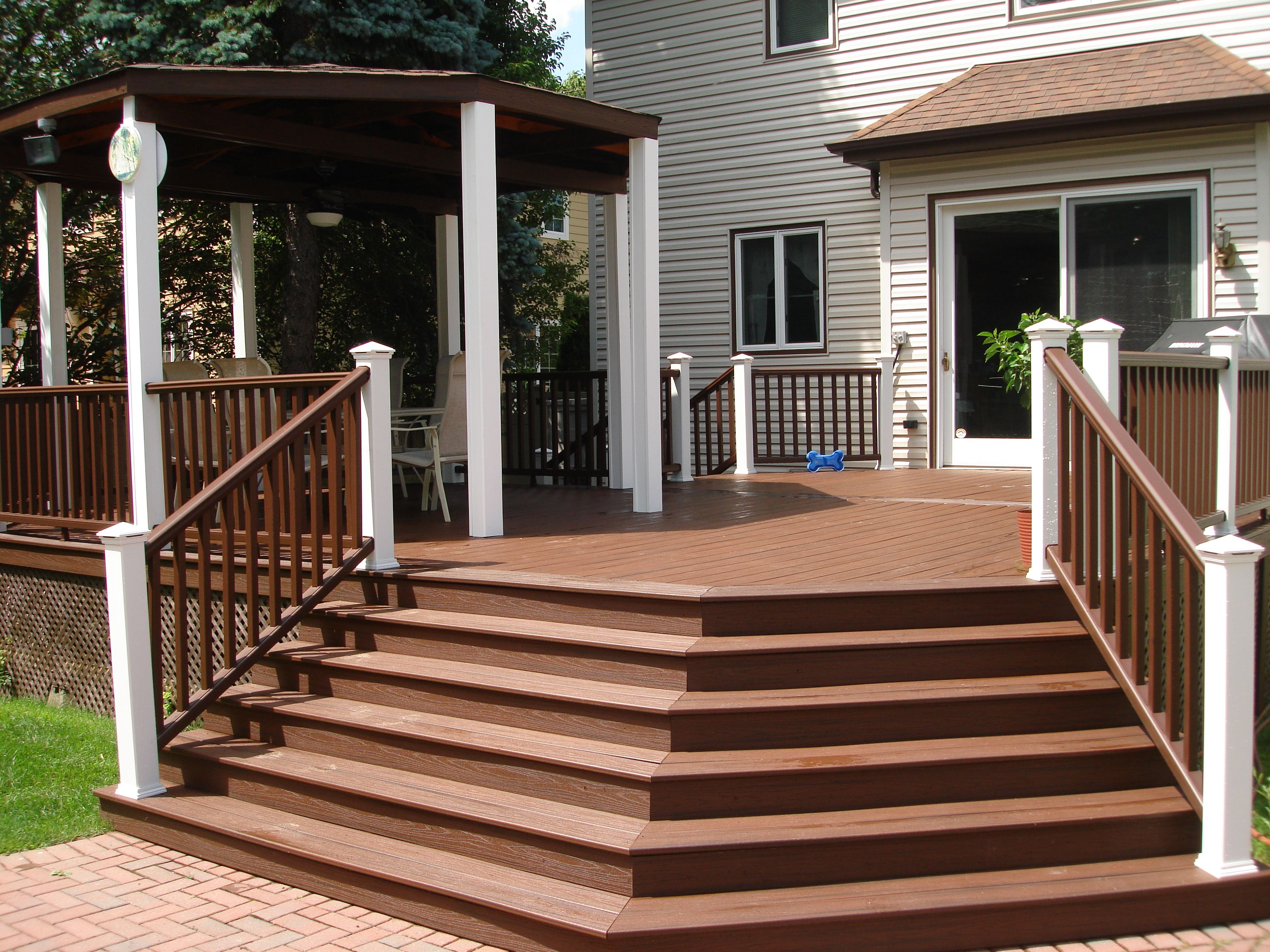 Best Angle Stairs Custom Deck Stairs Pinterest Decking 400 x 300