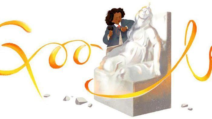 Photo of Black History Month: Google Doodle Salutes Pioneering Sculptor Edmonia Lewis