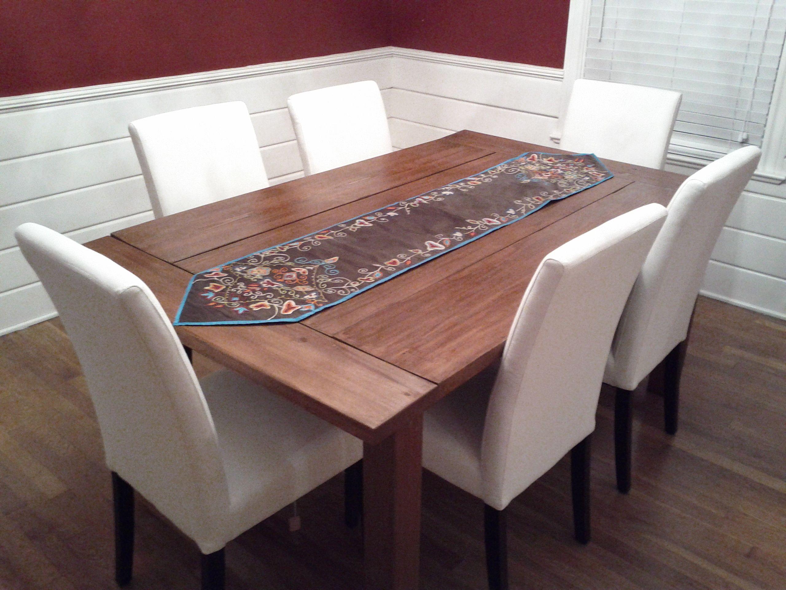 Farmhouse Dining Table Diy dining room table, Modern