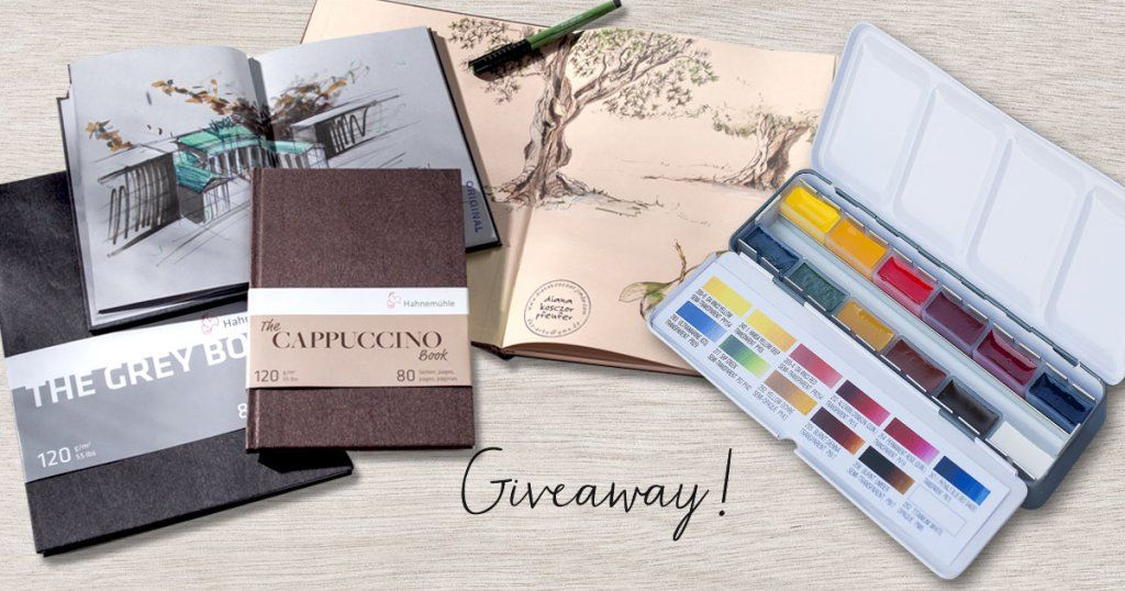 Doodlewash November Watercolor Sketching Giveaway Https