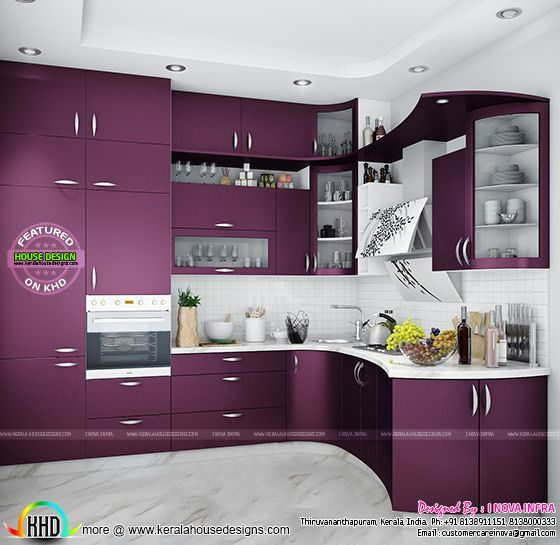 Modular Kitchen Kerala Kerala Home Design Kitchen Room Design Simple Kitchen Design Interior Design Kitchen