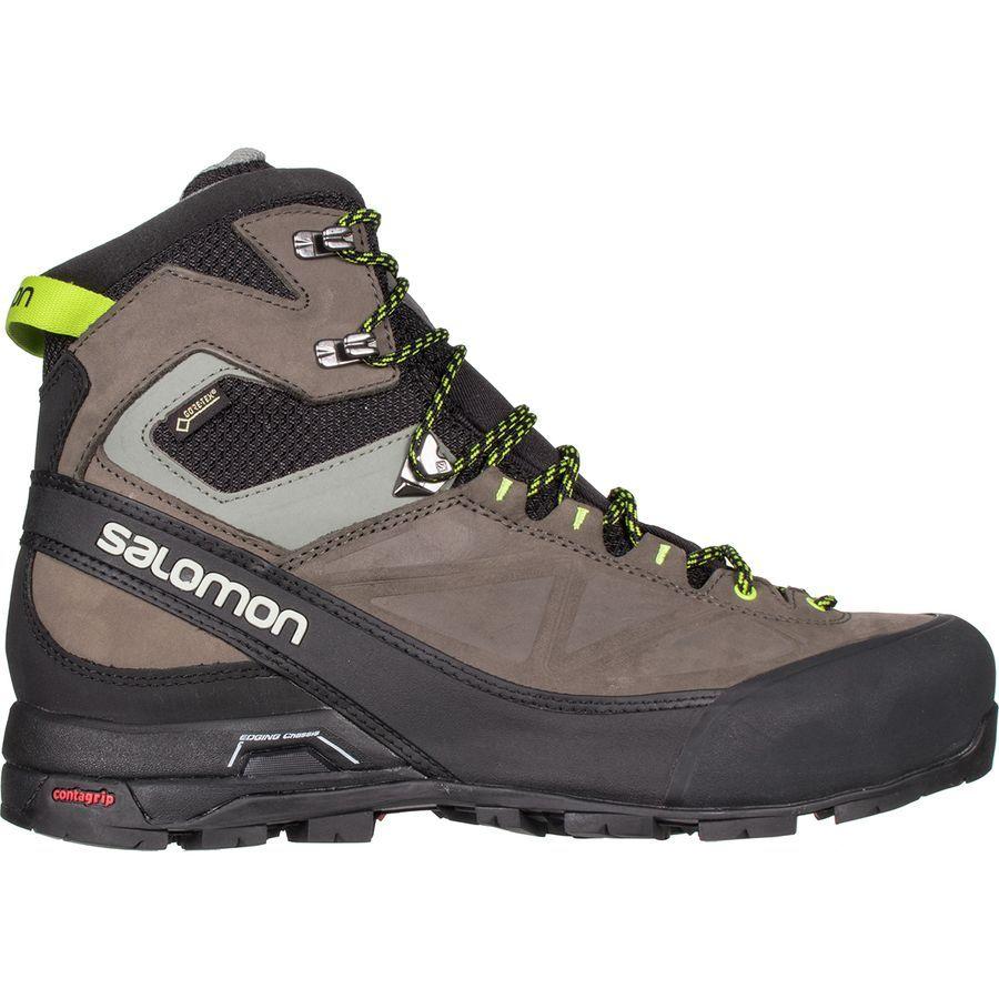 f0bcc6bb51e Salomon - X Alp MTN GTX Boot - Men's - Black/Beluga/Lime Punch ...