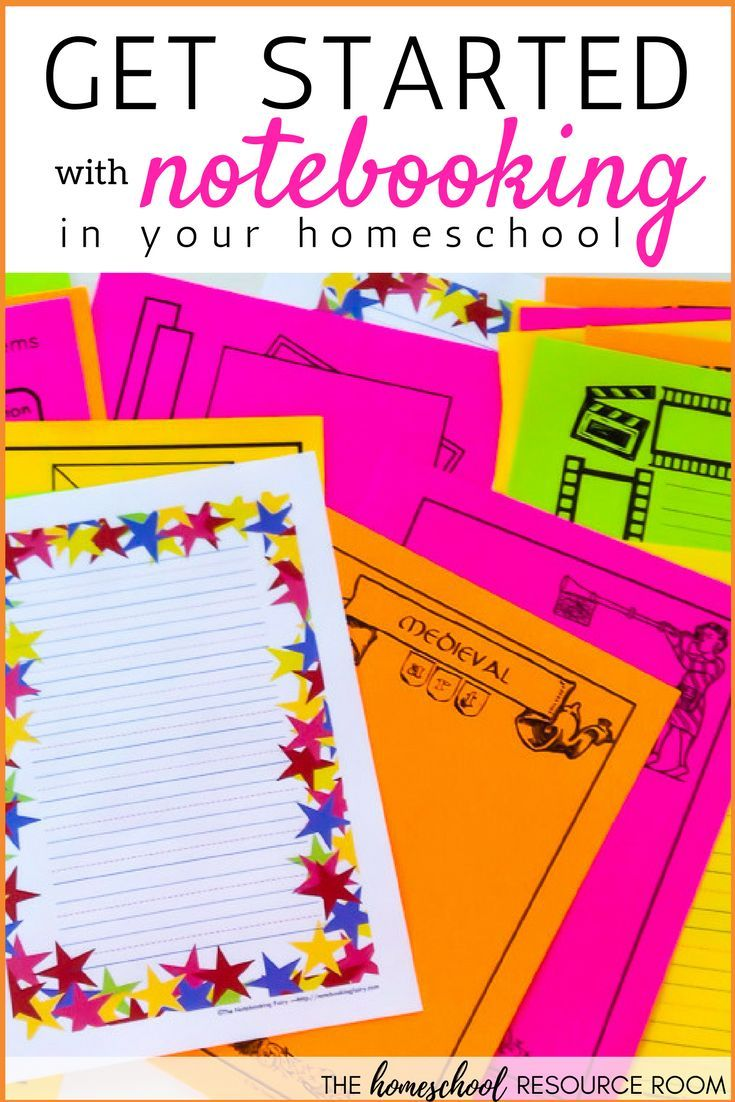 How To Get Started with Notebooking in Your Homeschool