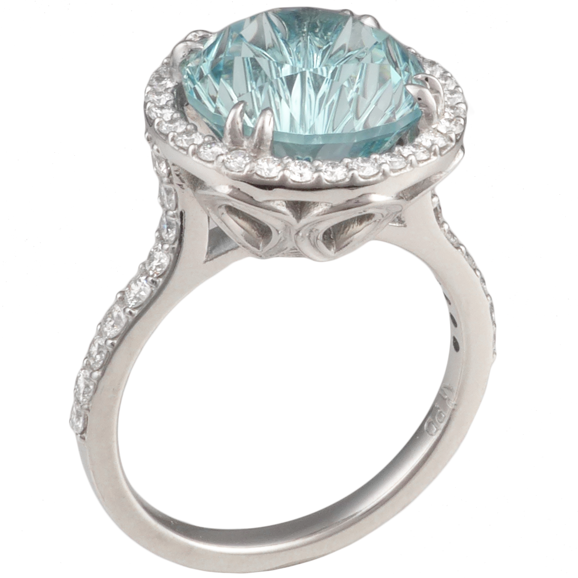 Colored Stone Wedding Rings at Exclusive Wedding Decoration and