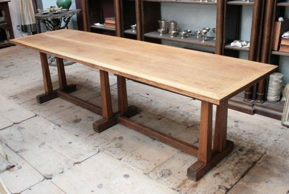 An Arts U0026 Crafts Oak Refectory Table By Waring U0026 Gillow, Circa 1930