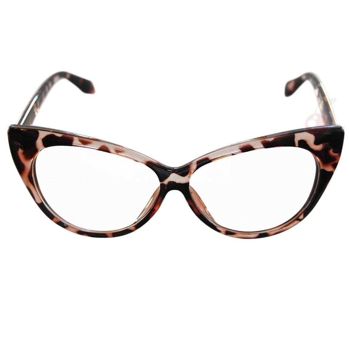 03385d9a29c Cat Eye Costume Glasses - Tortoiseshell in 2019