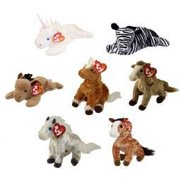 d8a56399560 TY Beanie Babies - HORSES