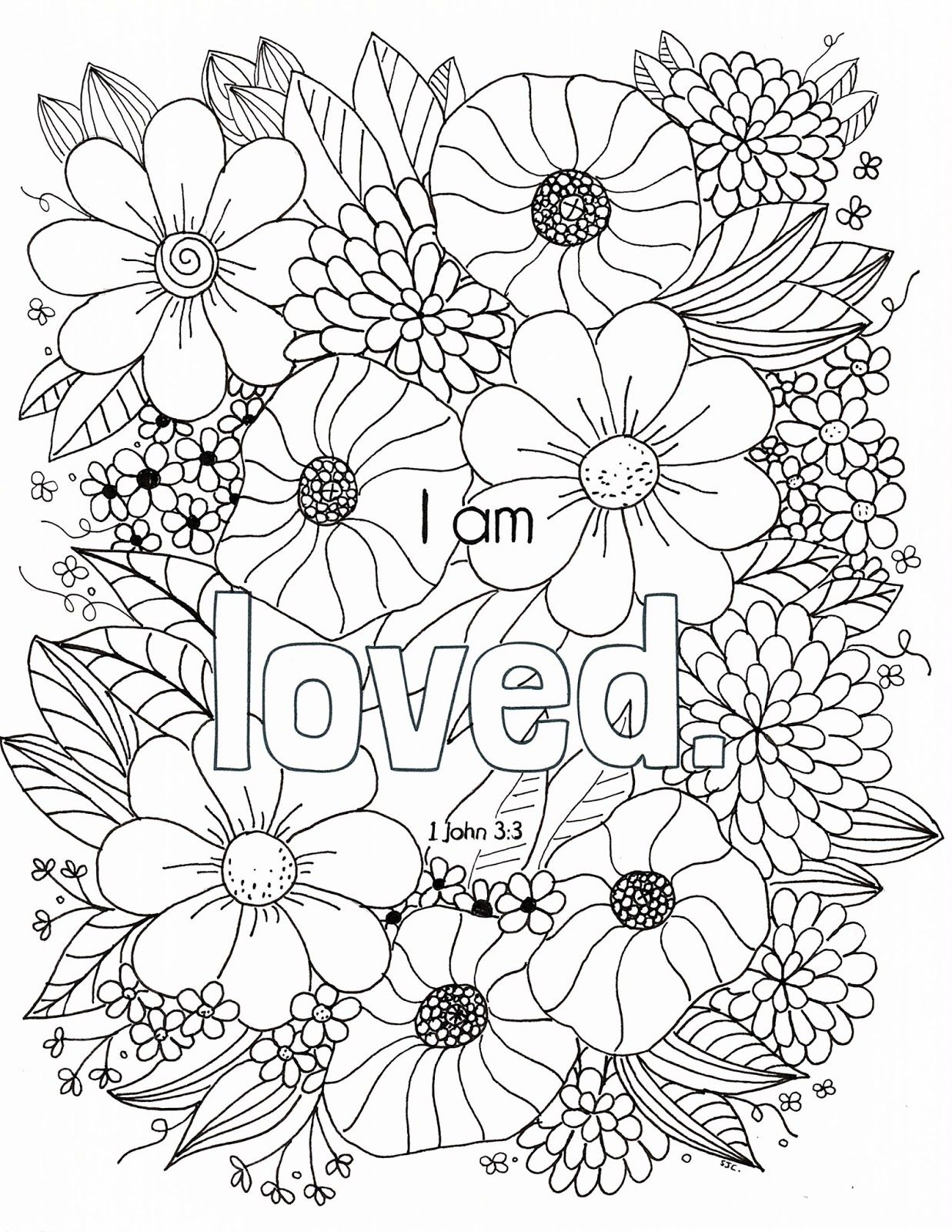 Welcome To The Who I Am In Christ Coloring Page Series