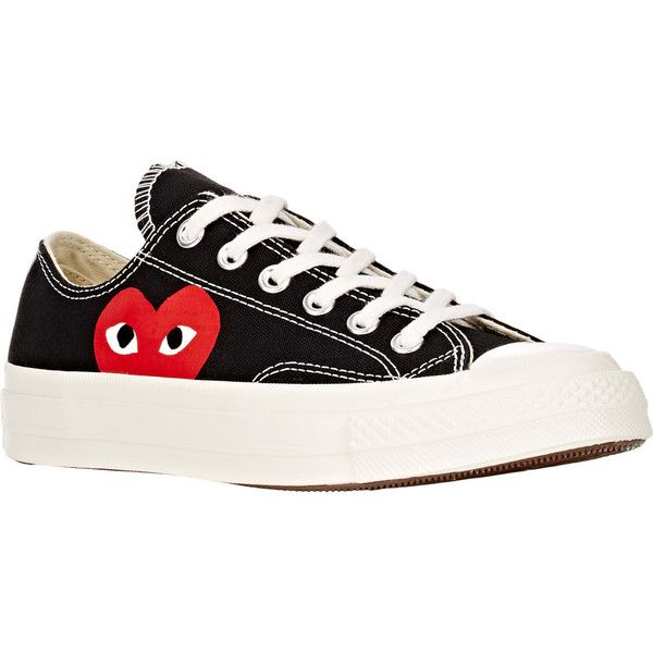 43f4e7fc675b54 Comme des Garçons PLAY Women s Women s Chuck Taylor 1970s Low-Top... ( 125)  ❤ liked on Polyvore featuring shoes