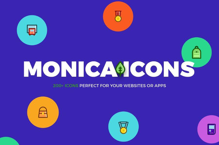 Monica Icons