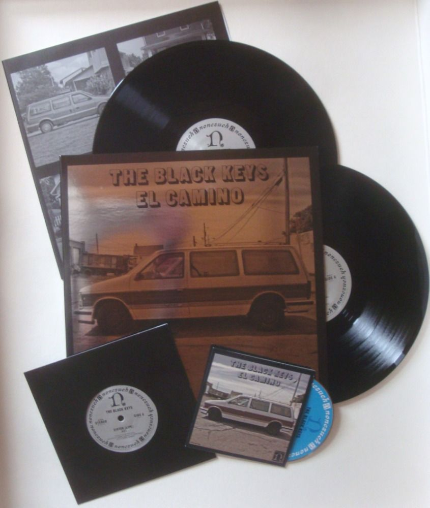 Lazy Labrador Records The Black Keys El Camino 2xlp 7 Deluxe Edition 45 Rpm 119 99 Http Lazylabradorrecords Com The Black Keys 45 Rpm El Camino
