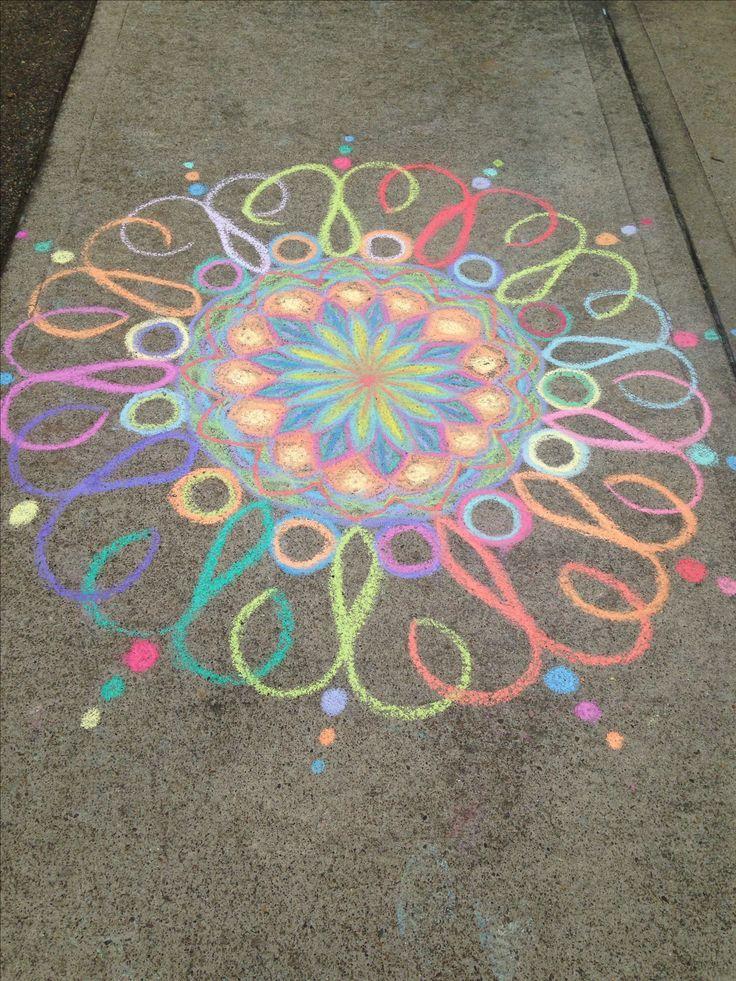 Driveway Chalk Art Summer Fun
