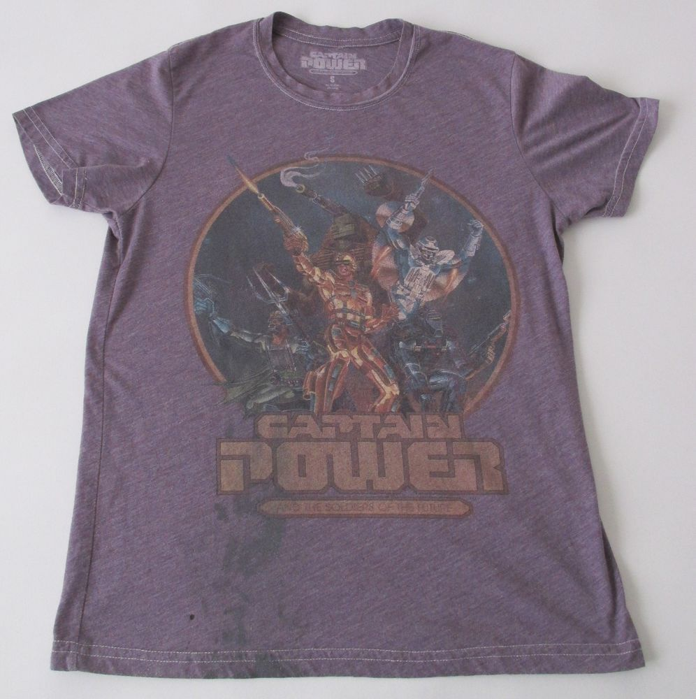 captain power and the soldiers of the future men's shirt #80s cartoons retro sm from $14.97