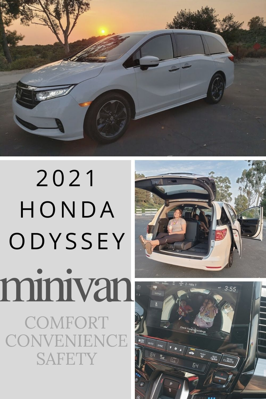 The 2021 Honda Odyssey Minivan In 2020 Honda Odyssey Mini Van New Honda Odyssey