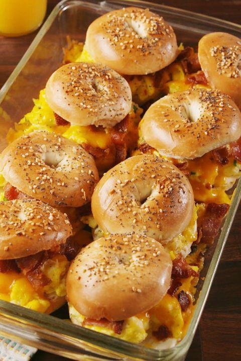 Bagel Breakfast Sliders