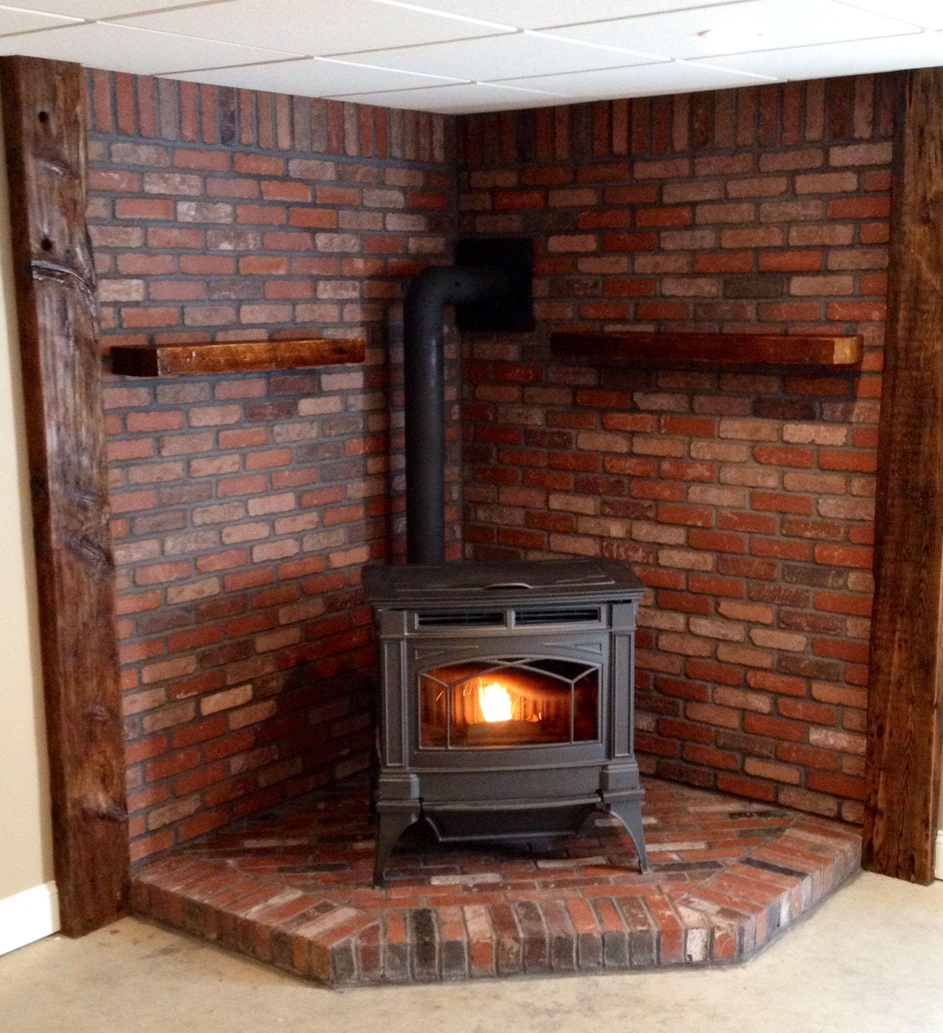Brick Hearth Brick Hearth Wood Stove Surround Wood Stove Fireplace