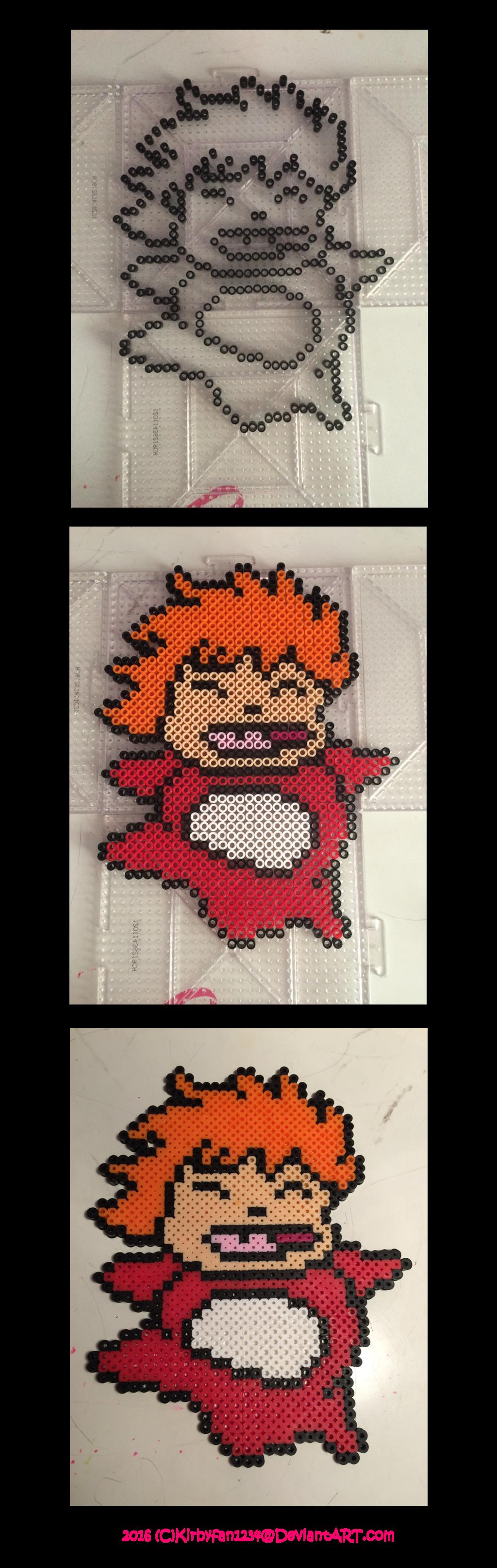Ponyo Perler Beads! by Kirbyfan1234 | perler bead | Pinterest ...