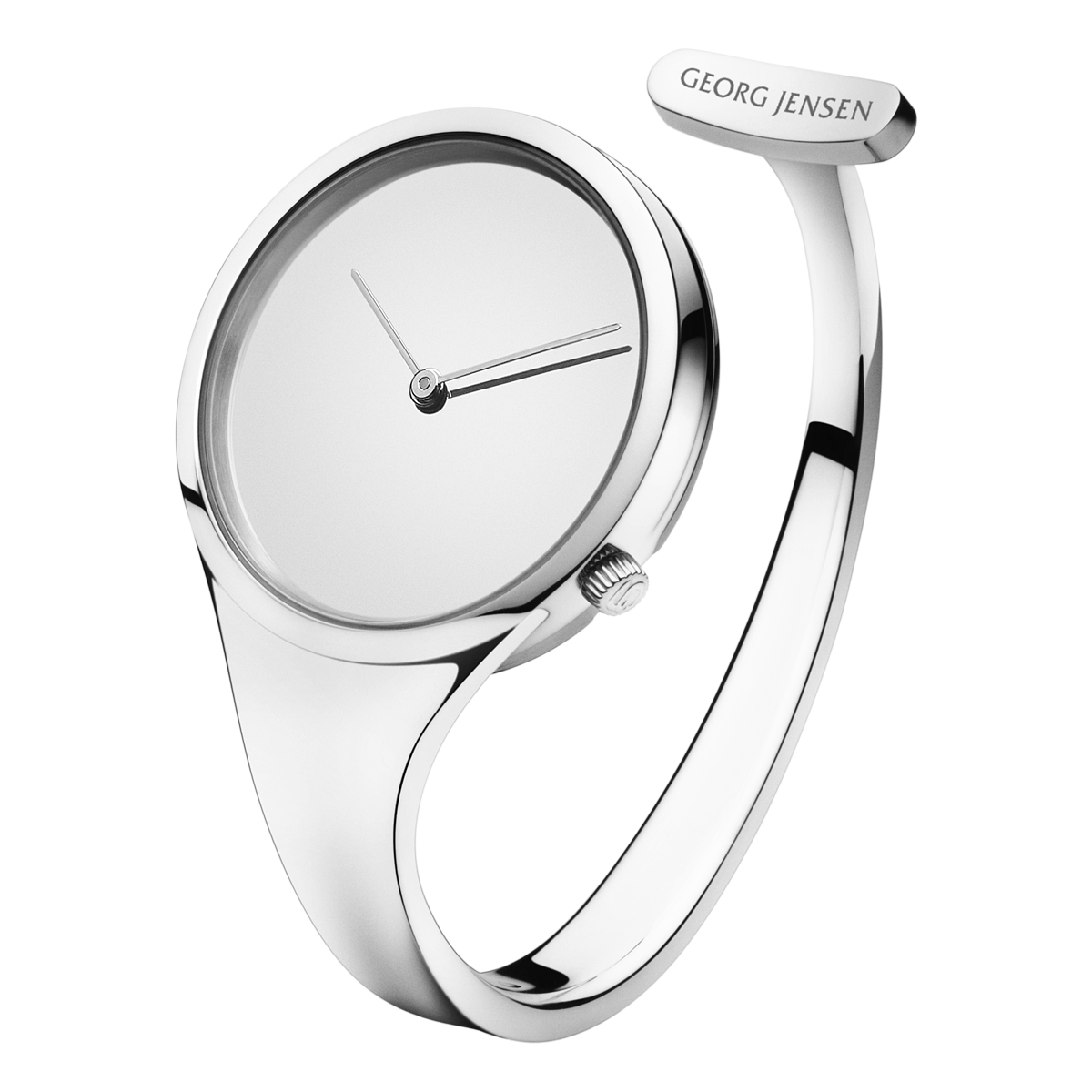 Georg Jensen Vivianna Diamond Bangle 326 Large Dial Created By The Legendary Swedish Designer Torun Bülow Hübe