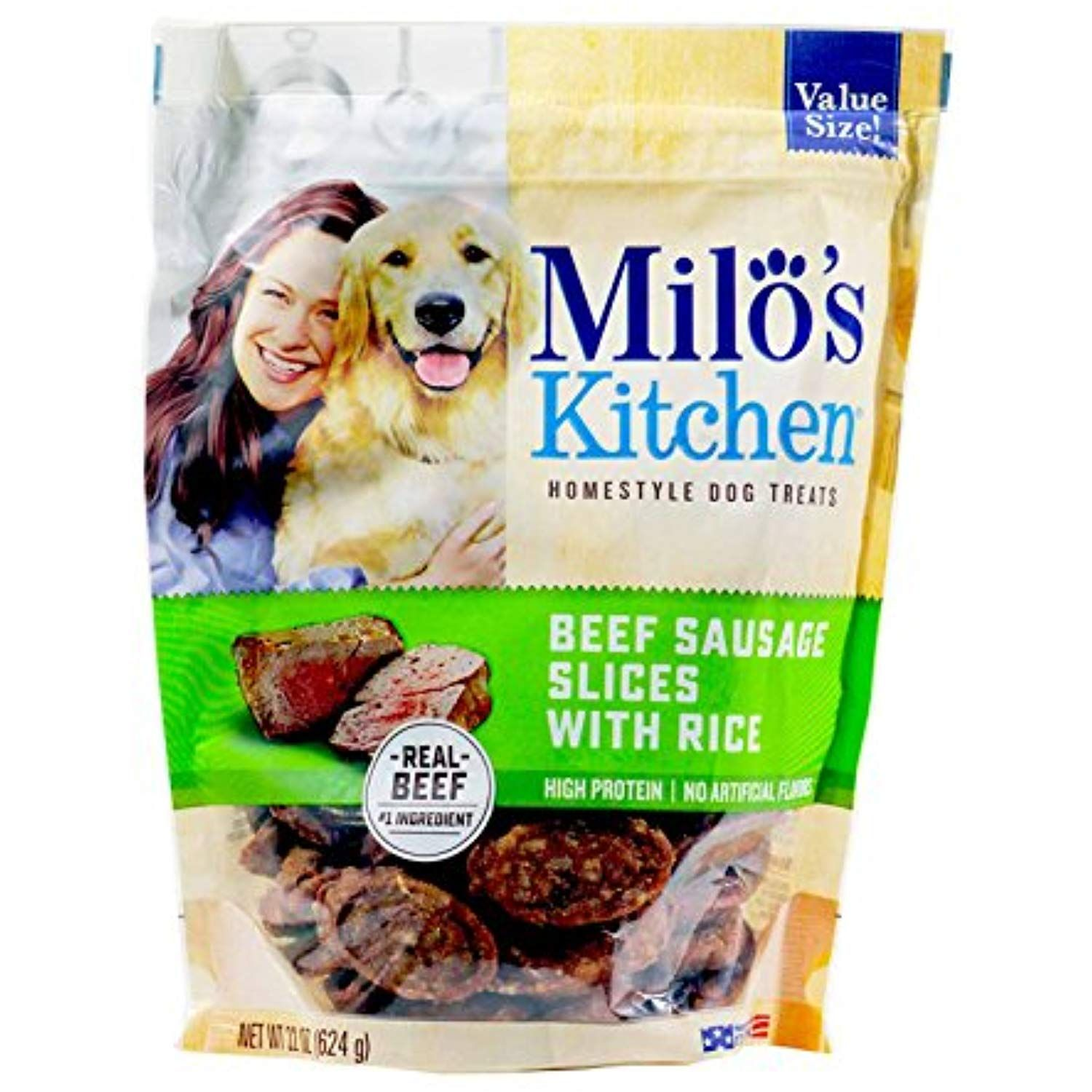 Milo S Kitchen Beef Sausage Slices With Rice 22 Oz More Info