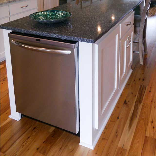 Kitchen Island - dishwasher on the end?
