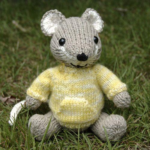 We Like Knitting Pocket Mouse Free Pattern Charity Knits