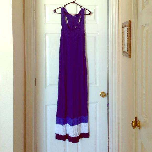 New York and Company maxi dress! Get ready for the summer with this light unique New York & Company maxi dress! Only worn once!! New York & Company Dresses Maxi