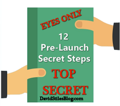 12 step pre-launch checklist so you can launch a product without disasters. From: DavidStilesBlog.com