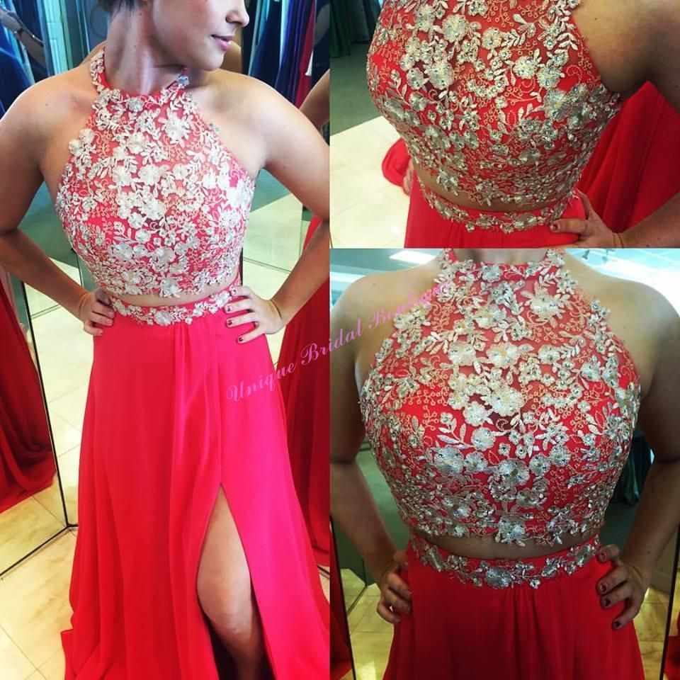 Expensive prom dresses awesome two pieces prom dresses with