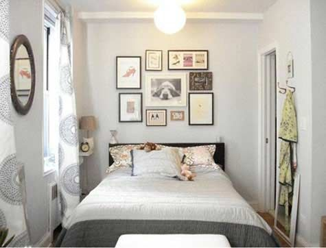 very small bedroom decorating ideas - Small Bedroom Design Idea