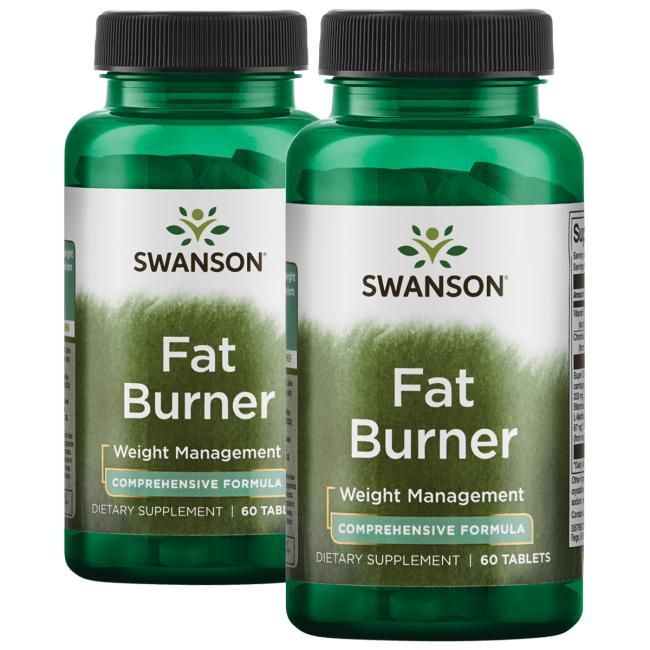 Swanson Best Weight-Control Formulas Fat Burner | 120 Tabs | Weight Loss