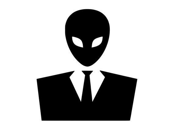alien suit outdoor vinyl custom sticker alien decal alien sticker