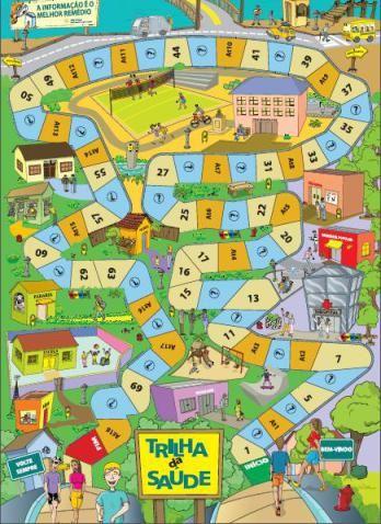 Jogo De Tabuleiro Cidade Dos Desenhos Animados Ilustracao De Stock Jogos De Tabuleiro Jogos Educativos Livro Linguagem Corporal