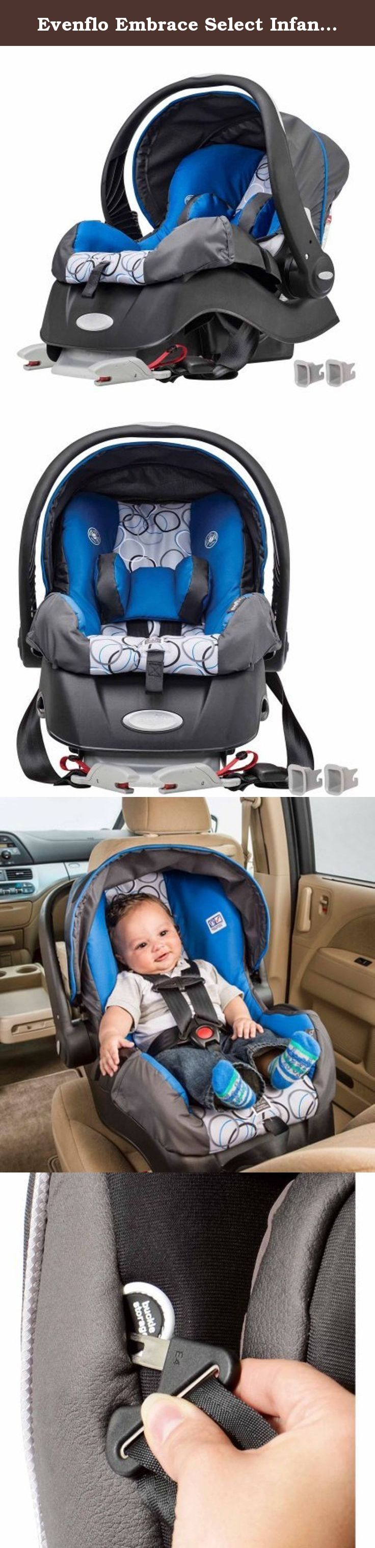 Evenflo Embrace Select Infant Car Seat With Sure Safe Installation Ashton Specifically For Infants