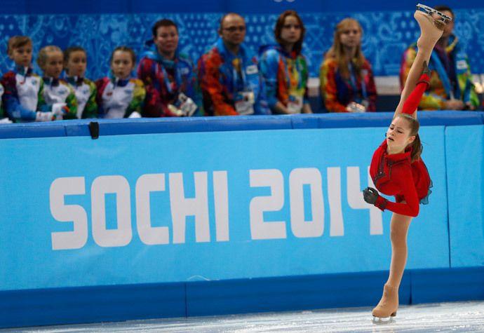 15yo prodigy Yulia Lipnitskaya is Russia's youngest Winter Olympic champion - News