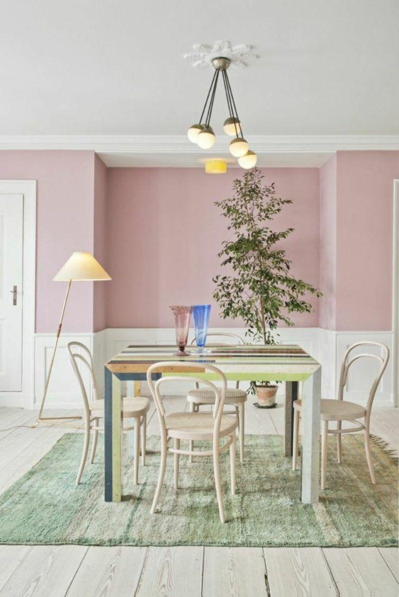 Altrosa Wandfarbe Romantische Ausstrahlung
