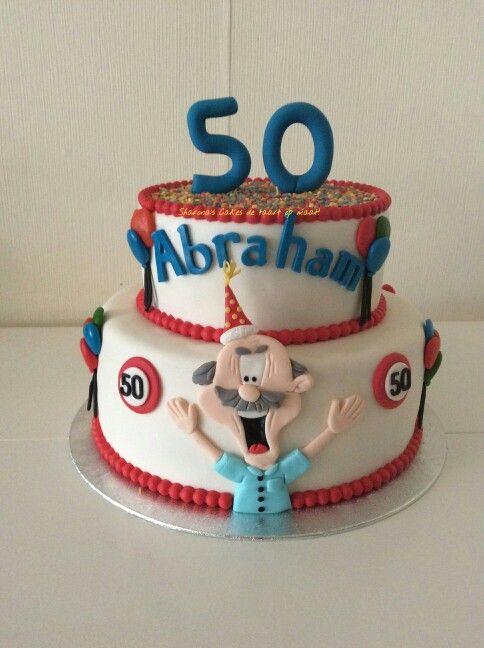 Extreem Abraham taart | Taarten - Birthday cakes for men, Cake en Birthday #HM01